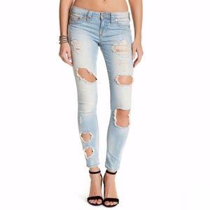 True Religion | Destroyed Super Skinny Jean